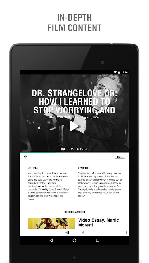 MUBI – Stream & Download Films- screenshot