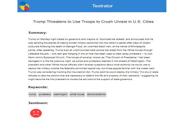 Textrator