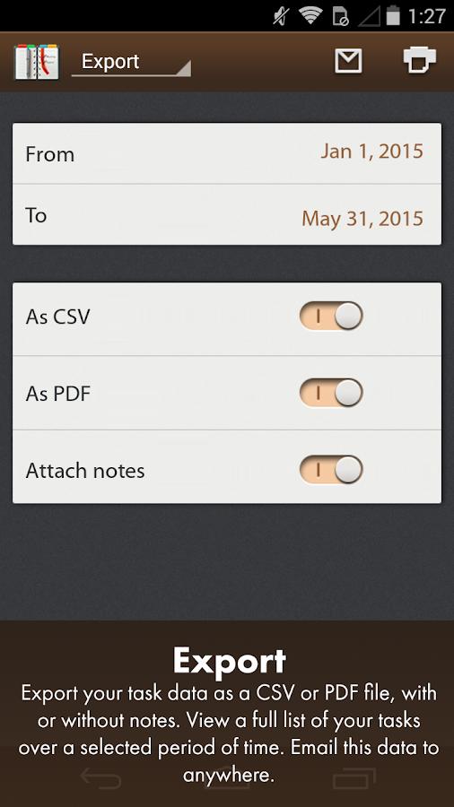 Schedule Planner Classic Pro - screenshot