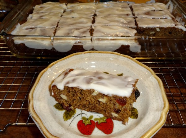 Cut into bars and serve with a nice glass of cold milk.  This...