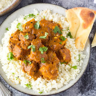Crockpot Indian Butter Chicken {Easy & Healthy}.