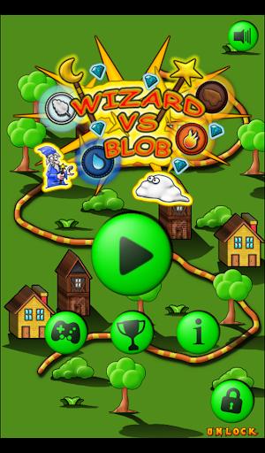 Wizard vs Blob