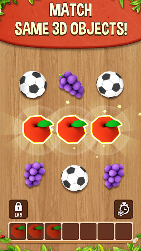 Match Triple 3D - Matching Puzzle Game apkmr screenshots 1