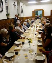 Photo: Avondmaaltijden met gerechten Avondmaaltijd met gerechten rond afscheid door Soleur