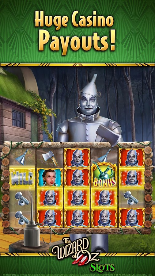 free online casino slots wizard of oz
