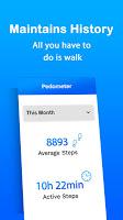 screenshot of Pedometer - Step Counter & Calorie Tracker