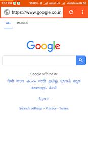 Webingo Browser - náhled