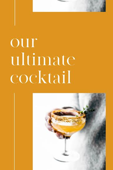 Our Ultimate Cocktail - Pinterest Pin Template
