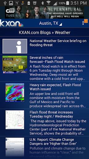 KXAN Weather screenshot 5