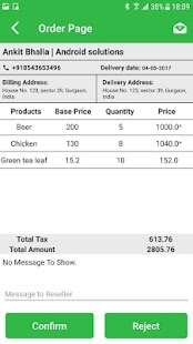 Eezee Order Supplier - náhled