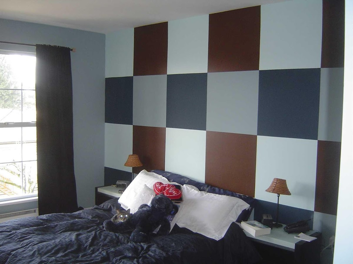 Room color ideas for bedroom - Bedroom Wall Painting Design Screenshot