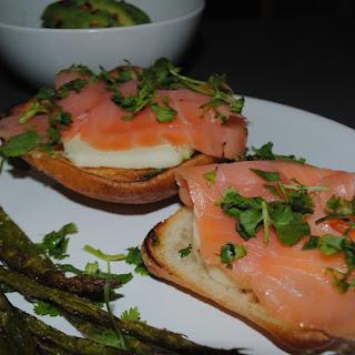 Smoked Salmon on Ciabatta
