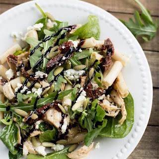 Balsamic Chicken and Brown Rice Pasta Salad Recipe
