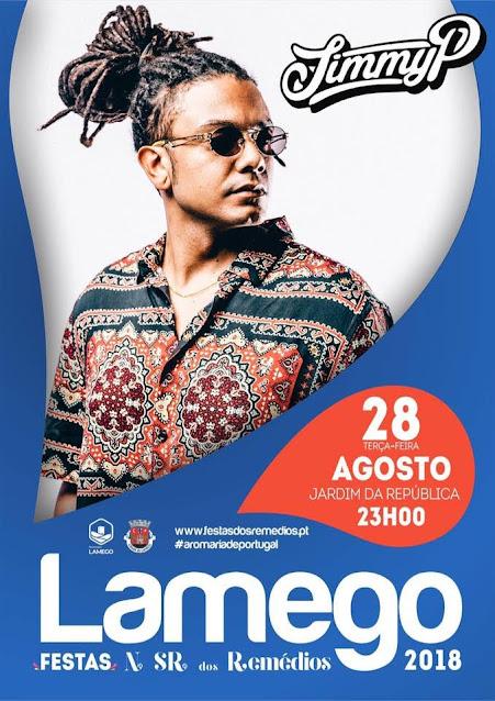 JIMMY P ao vivo em Lamego nas Festas dos Remédios