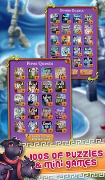 Mahjong Olympus Gods - Titan Adventure apk screenshot