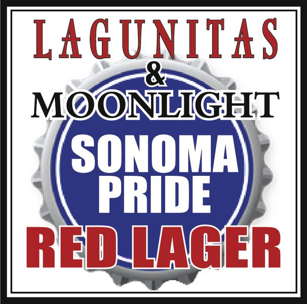 Logo of Lagunitas & Moonlight Sonoma Pride Red Lager