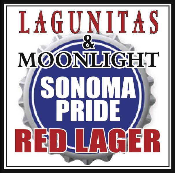Logo of Lagunitas & Moonlight Sonoma Pride Red Lager