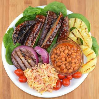 Barbecue Portobello Bowl {Vegan}.