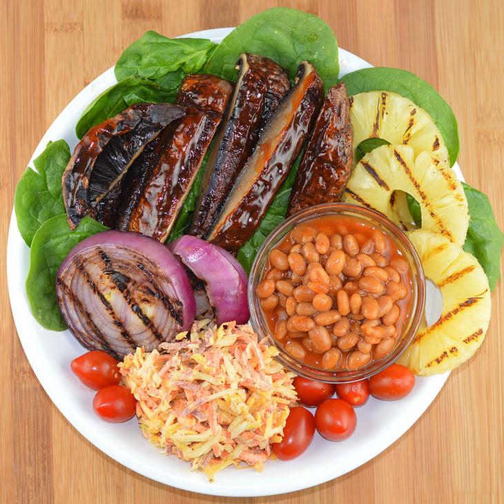 Barbecue Portobello Bowl {Vegan}