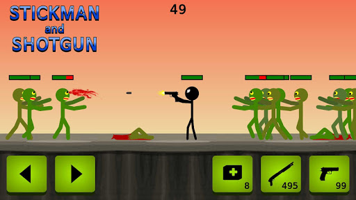 Stickman and Shotgun for PC