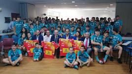 El presidente de la española en Almería.