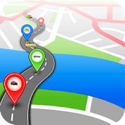 GPS Route Finder without Internet- Free