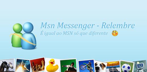 Msn Messenger - Relembre APK