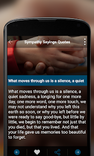 Sympathy Quotes- screenshot thumbnail