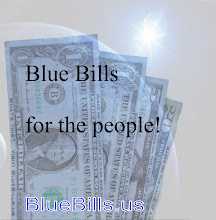 Photo: Blue Bills for the people.