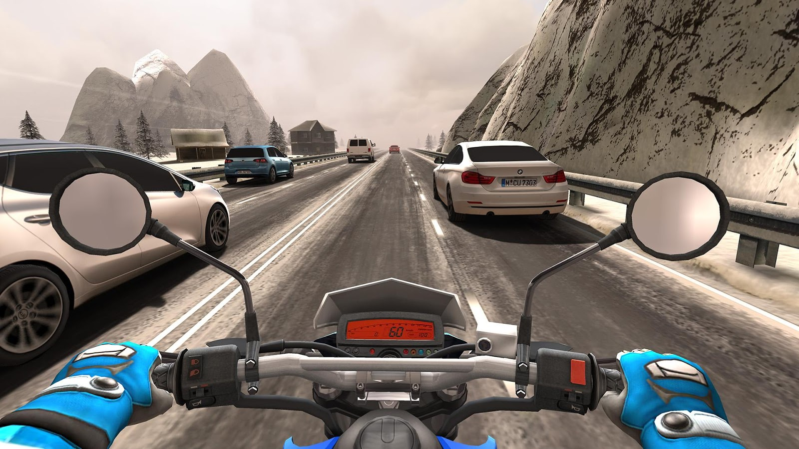 Traffic Rider: captura de tela