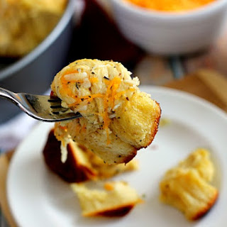 Three Cheese Garlic Pull Apart Bread Recipe