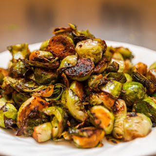 Balsamic Braised Brussels Sprouts