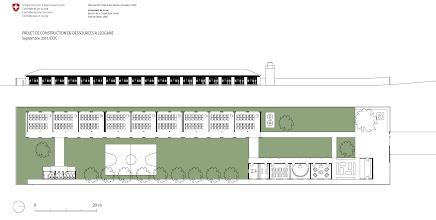 Photo: Le plan du projet