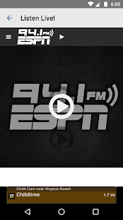 ESPN 94.1- screenshot thumbnail