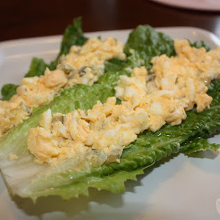 Low Carb Egg Salad Wrap