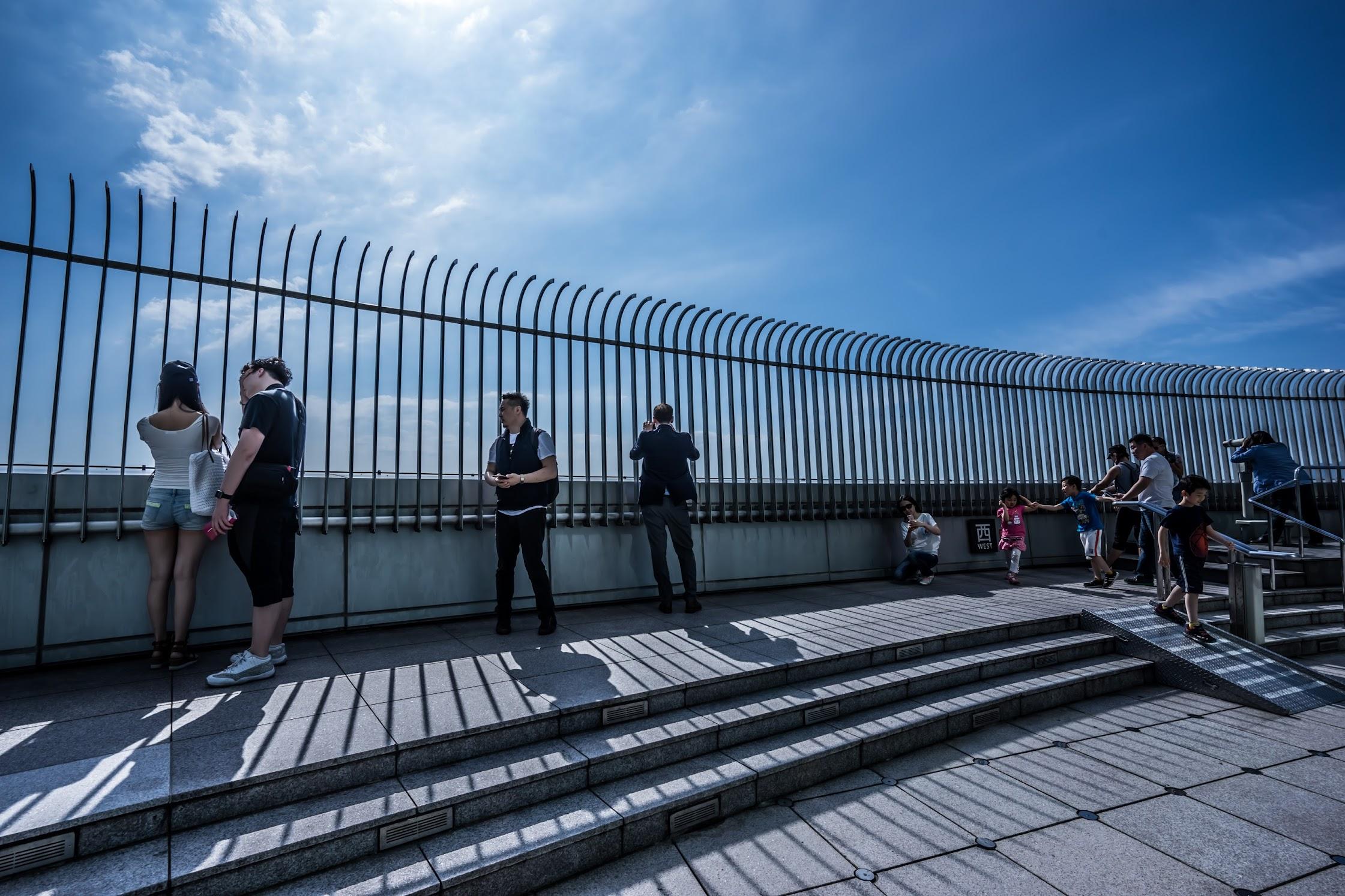 台北101 屋外展望台1