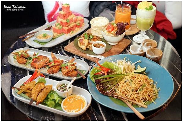 Woo Taiwan米平方店‧來自清邁的華麗宮廷風泰式料理、下午茶,好拍又好吃!