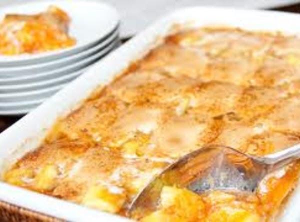 Bread And Fruit Casserole Recipe