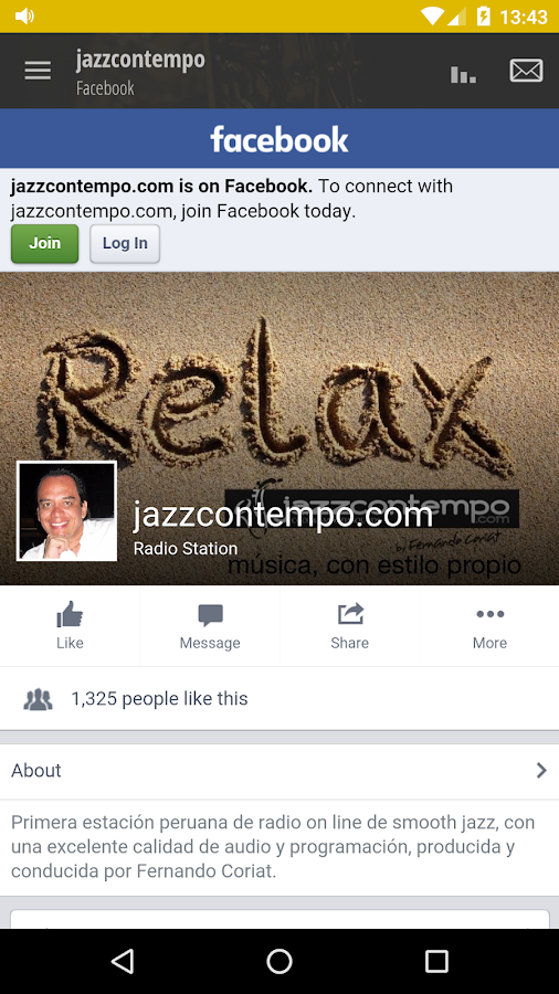 jazzcontempo- screenshot