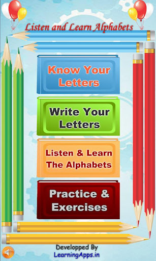 Alphabets Learning and Writing 1.0.5 screenshots 1