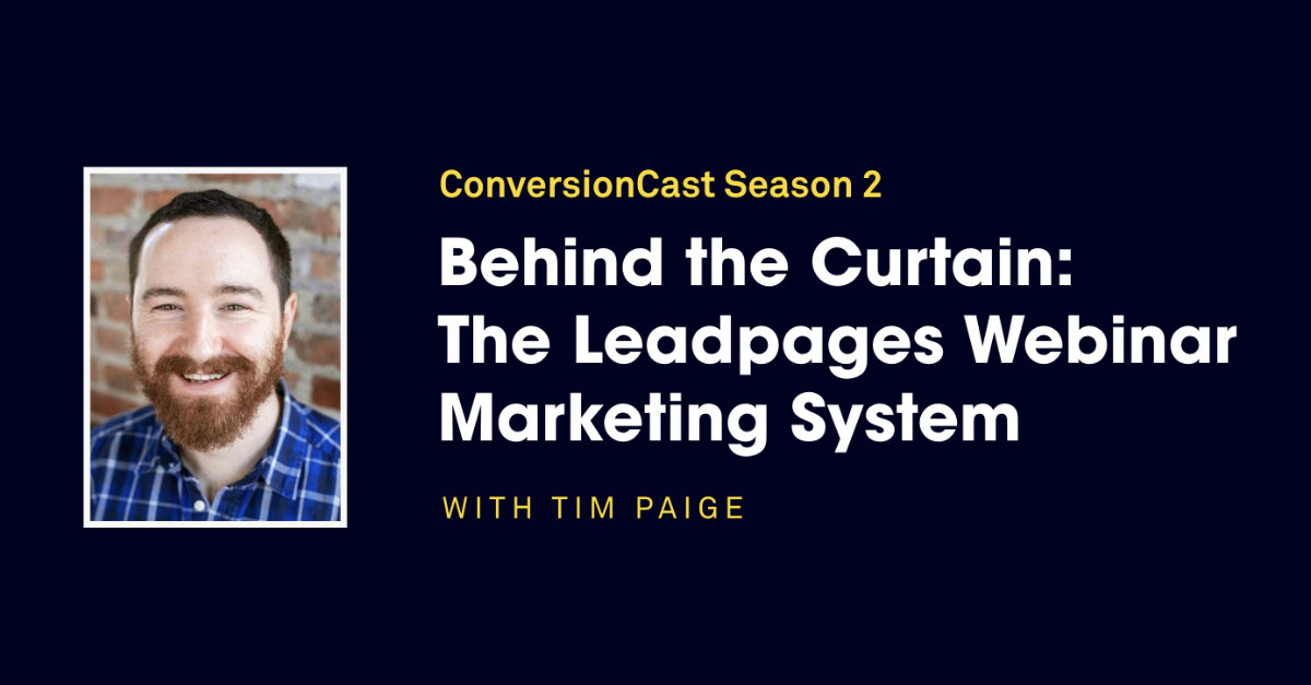ConversionCast Season 2 from Leadpages