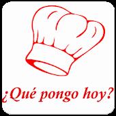 ¿Qué Pongo Hoy? - Recetas De Cocina Android APK Download Free By Mtoh