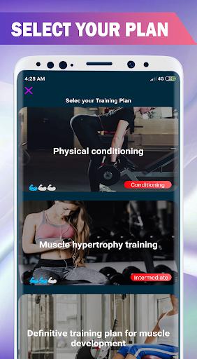 Buttocks Workout - Hips, Legs & Butt Workout Pro screenshot 4