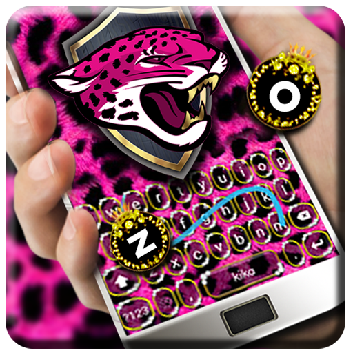 Cartoon Cheetah Keyboard Theme Icon