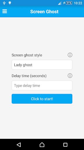 Screen Ghost Screen Prank