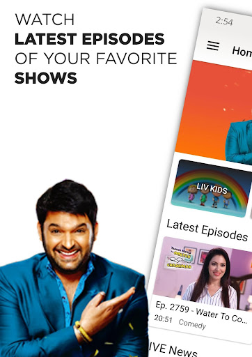 Foto do SonyLIV - TV Shows, Movies & Live Sports Online