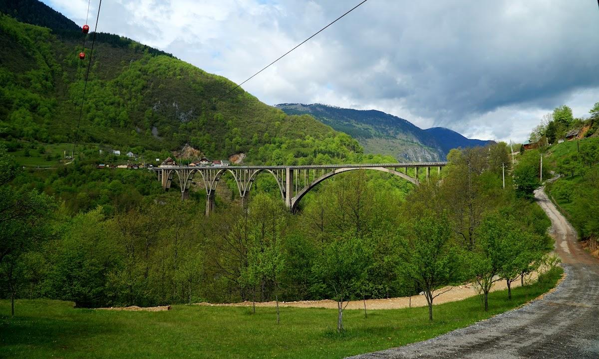 Most Đurđevića na rzecze Tara Czarnogóra