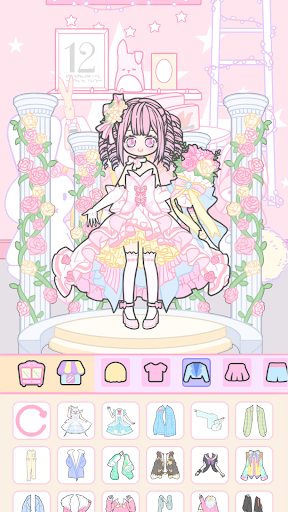Vlinder Girl - Dress up Games , Avatar Creator 1.1.8 screenshots 3