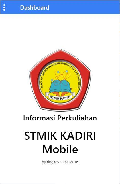 STMIK KADIRI Mobile- screenshot