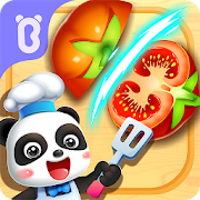 Little Panda Chef's Robot Kitchen-Kids Cooking